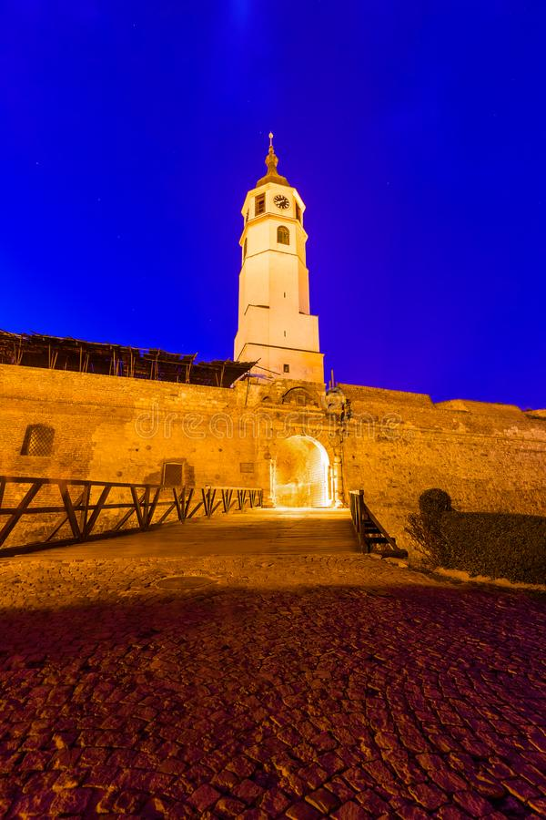 Kalemegdan fortress Beograd - Serbia. Architecture travel background stock images