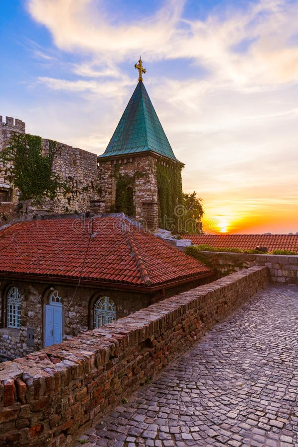Kalemegdan fortress Beograd - Serbia. Architecture travel background stock image