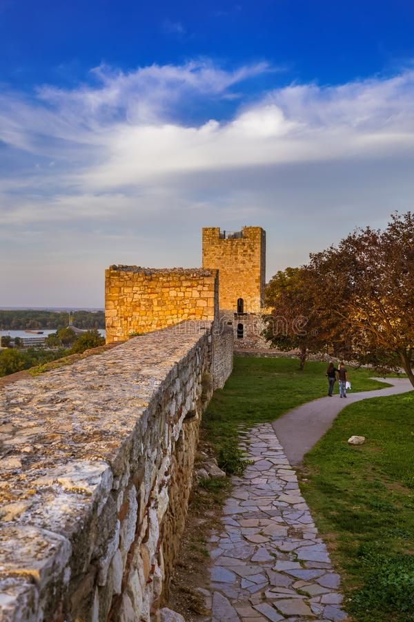 Kalemegdan fortress Beograd - Serbia. Architecture travel background stock photos