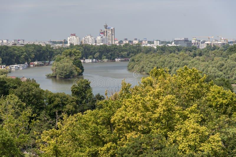 Kalemegdan fortress Beograd - Serbia - architecture travel background. Kalemegdan fortress Beograd - Serbia - architecture travel stock photo