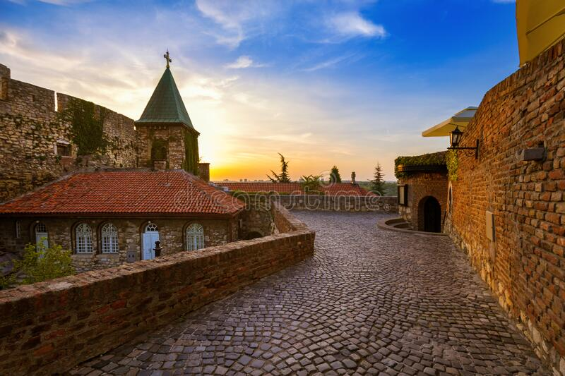 Kalemegdan fortress Beograd - Serbia. Architecture travel background royalty free stock photography