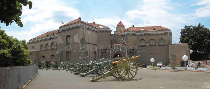 Kalemegdan, Militärmuseum stockbild