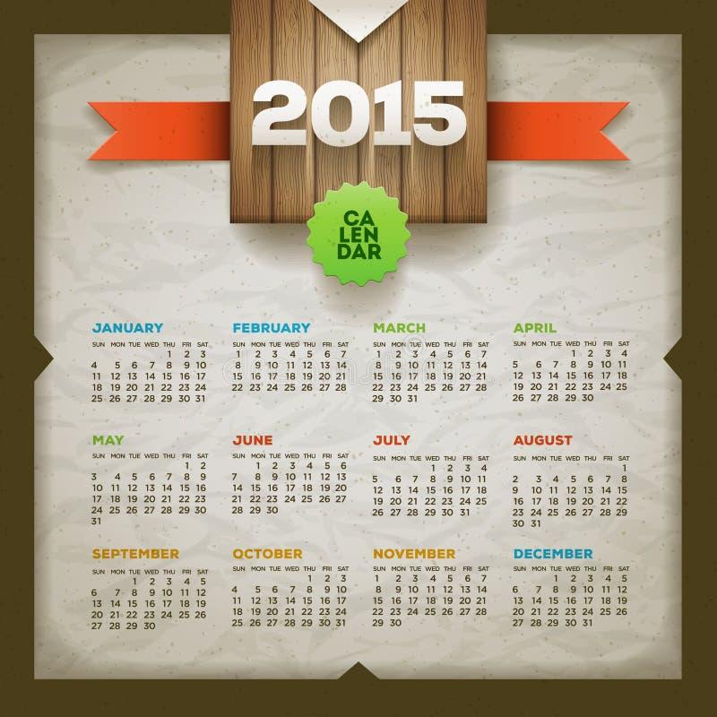 2015 kalendarz