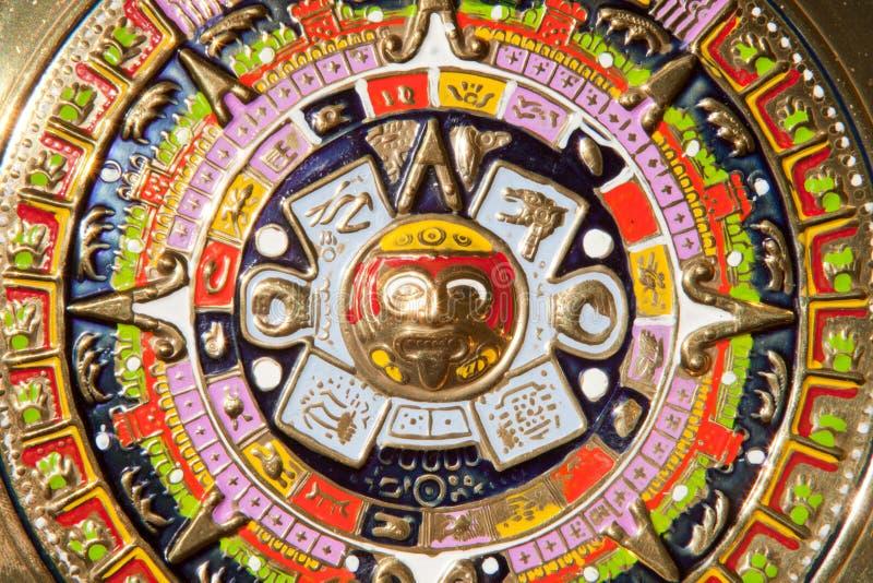 kalendarz aztec fotografia royalty free