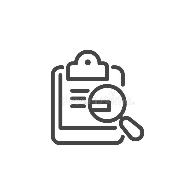 Kalendarz z teksta i pętli ikoną Nauka, rozkład, organizator, analizy pojęcie Czasu zarządzania linii znak Odizolowywający royalty ilustracja