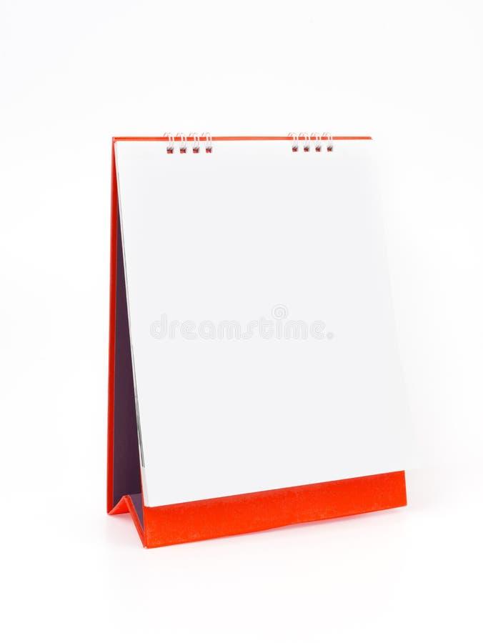 kalendarzowa czerwień obraz stock