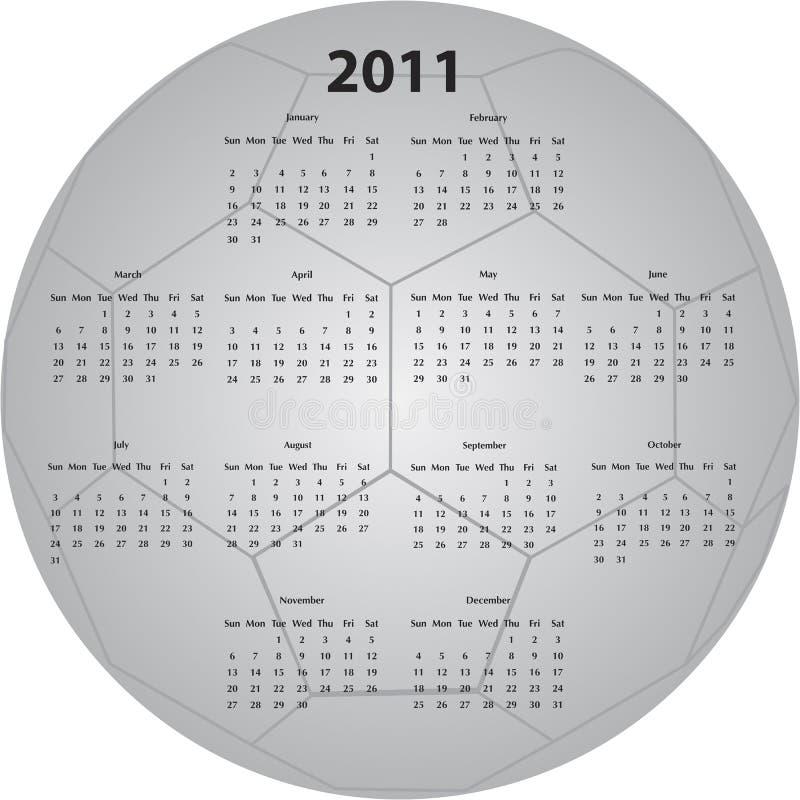 kalendarzowa piłki piłka nożna obrazy royalty free