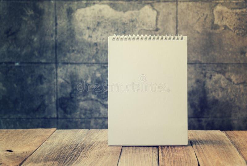 kalendarzowego desktop ślepej próby obrazy stock