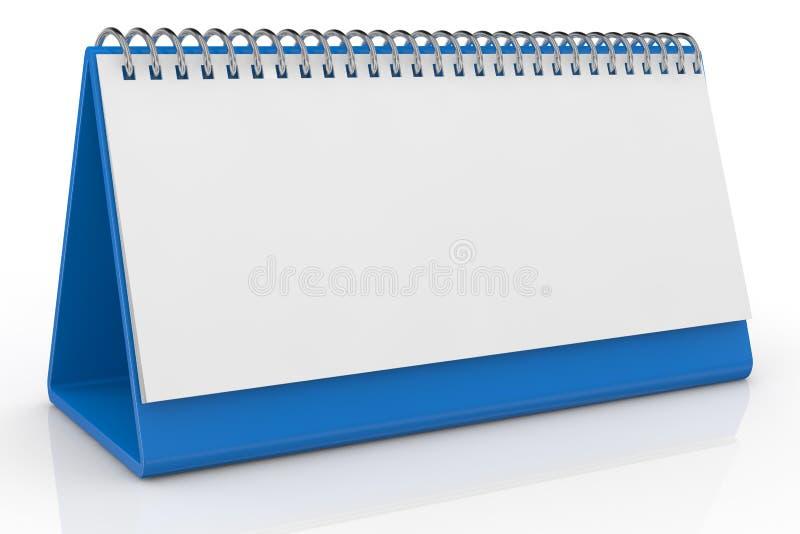 kalendarzowy biurko royalty ilustracja