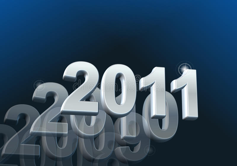 Kalender 2011 vektor abbildung