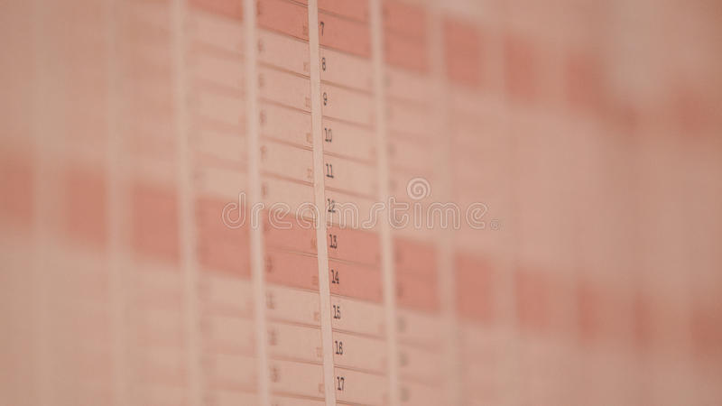 kalender arkivbilder