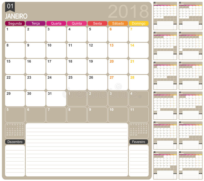 weihnachten 2018 kalender Kalender 2018 vektor abbildung. Illustration von weihnachten  weihnachten 2018 kalender