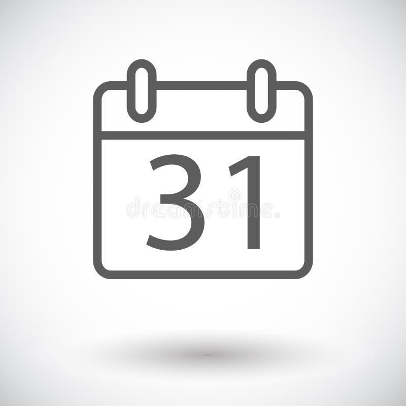 Download Kalender vektor abbildung. Illustration von abzeichen - 90230575