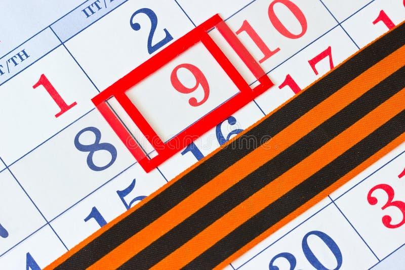 Download Kalender Met De Datum Van 9 Mei Stock Afbeelding - Afbeelding bestaande uit groot, rusland: 39102855