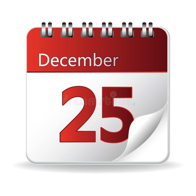 kalender pictogram stock illustratie
