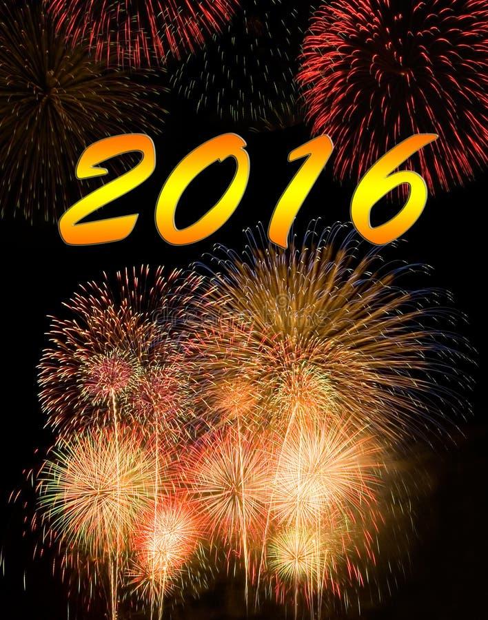 Kalenderabdeckung 2016 lizenzfreies stockbild