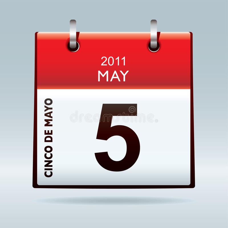 Kalenderikone Cinco De-Mayo