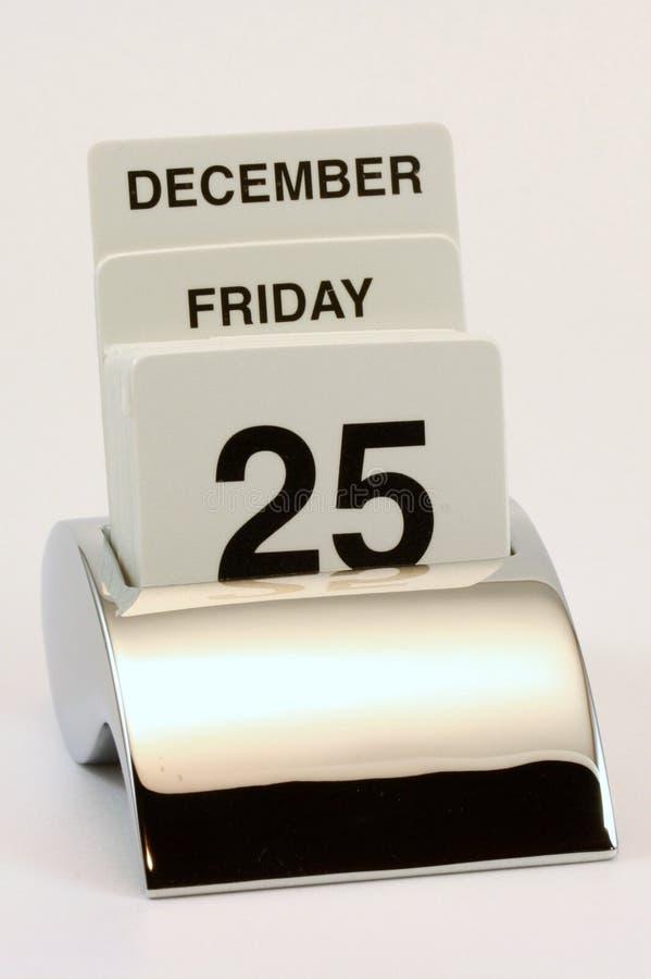 kalenderjuldag arkivbild