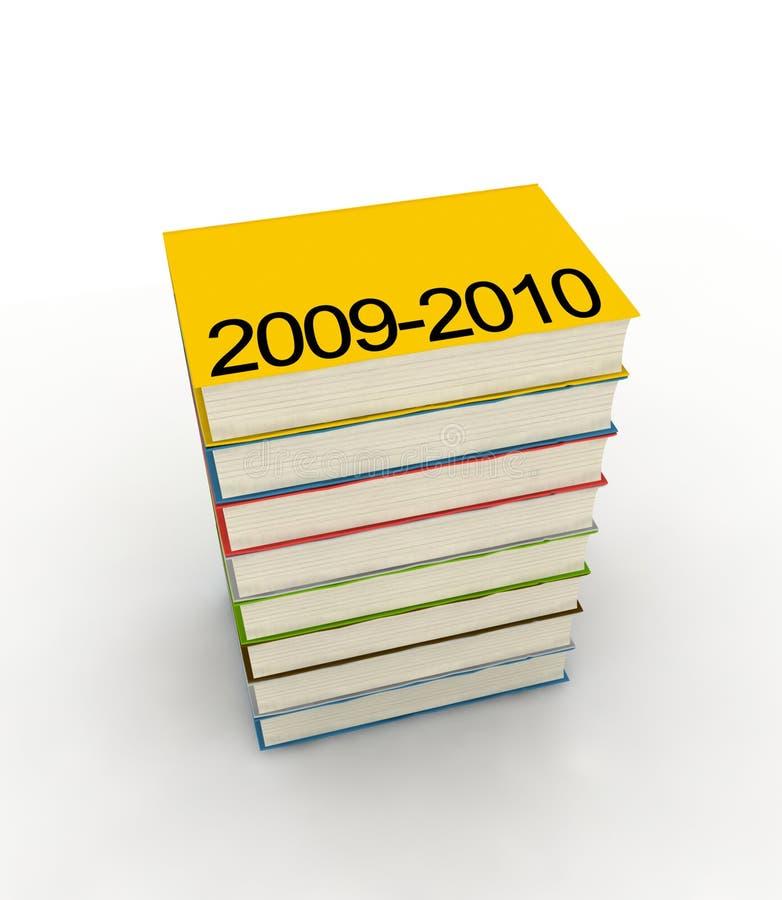 Kalenders - die op witte achtergrond worden geïsoleerde royalty-vrije illustratie