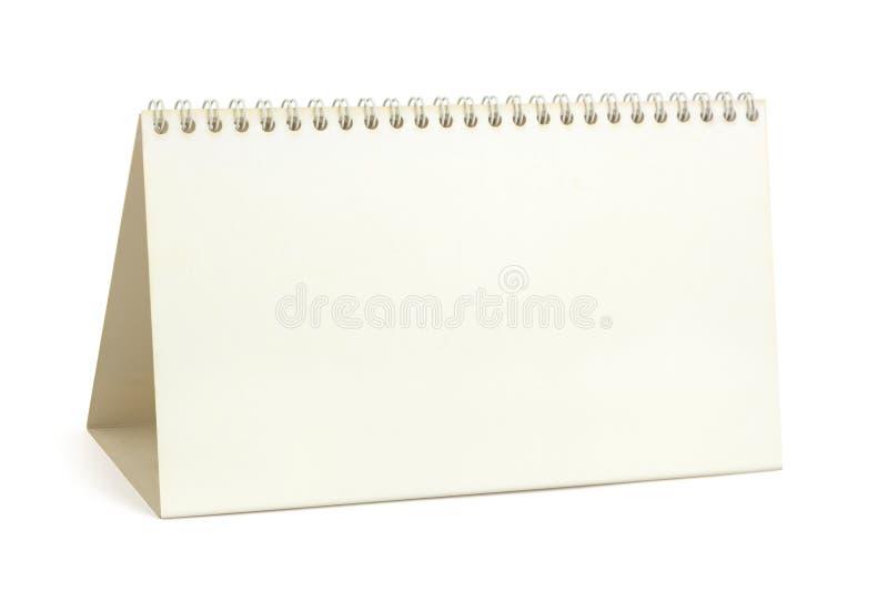 kalenderskrivbordpapper arkivbild
