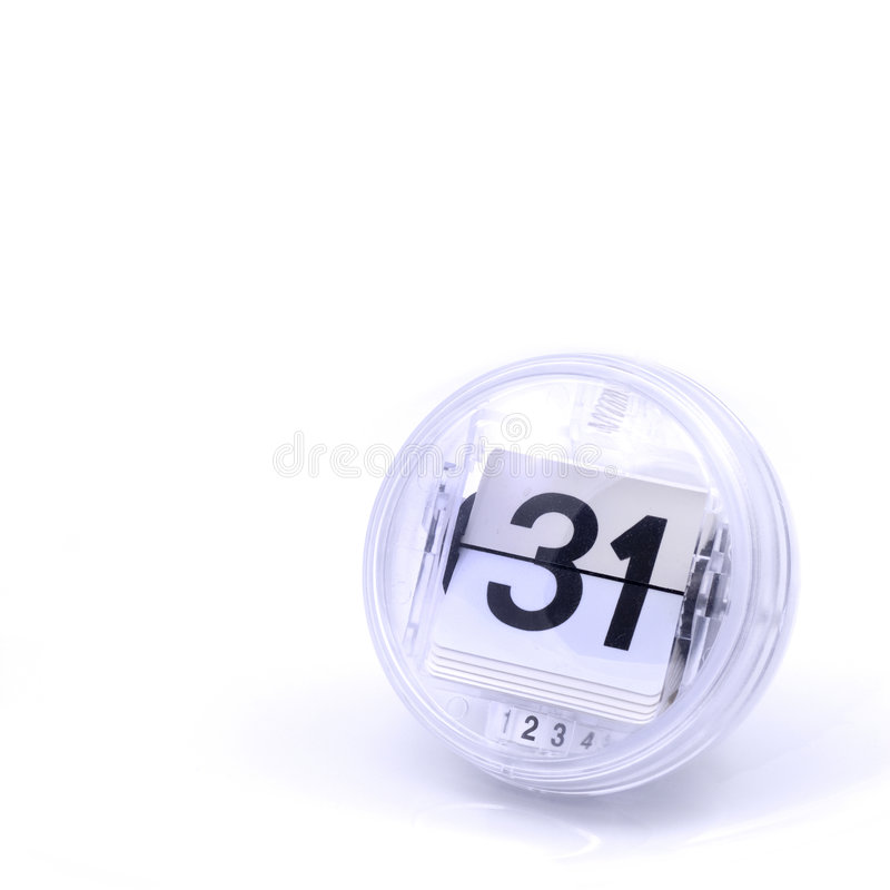 Kalendertag stockfotografie