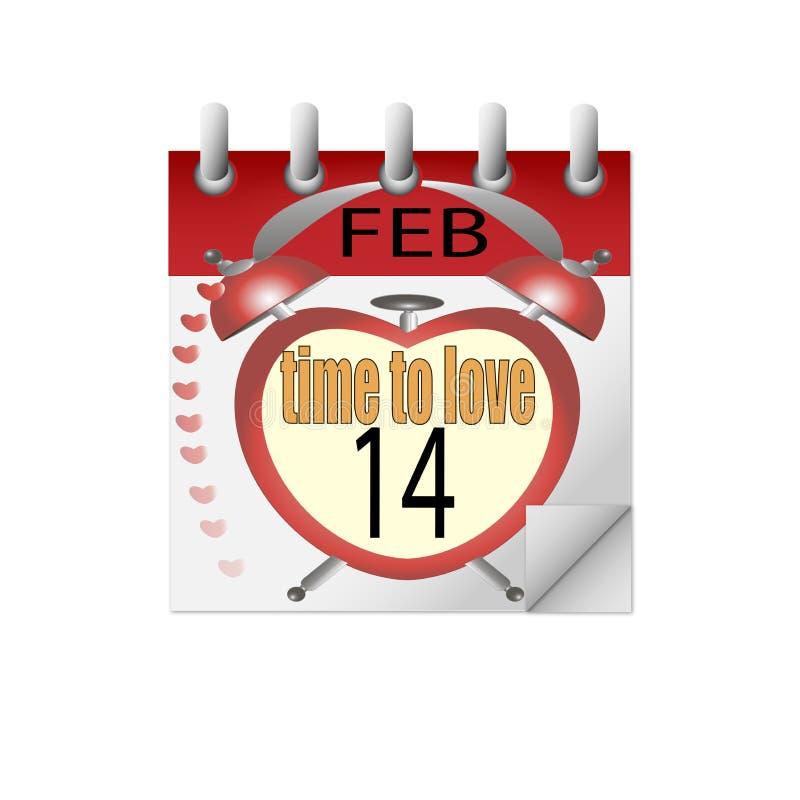 Kalendertijd te houden van stock fotografie