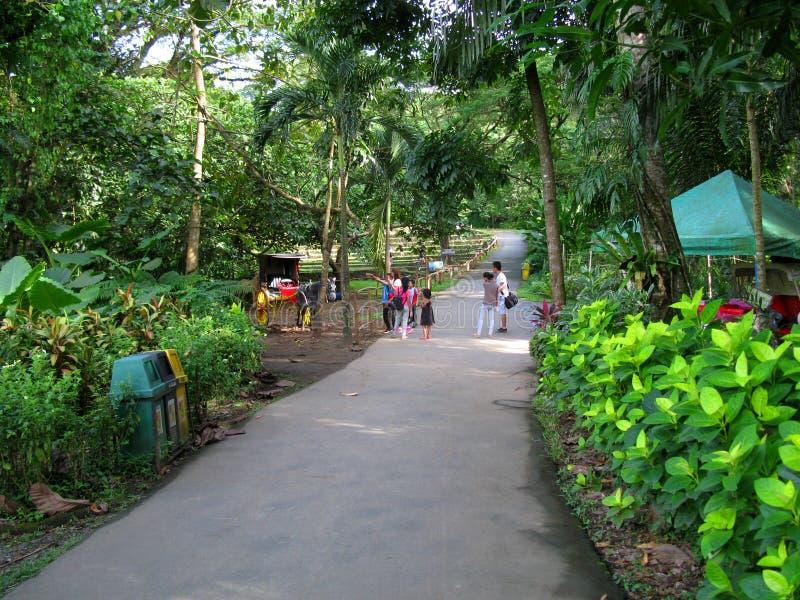 Kalesapost, La Mesa Ecopark, Quezon-Stad, Filippijnen royalty-vrije stock fotografie