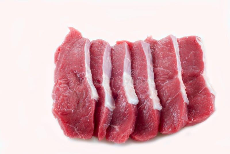 Kalfsvlees. stock foto