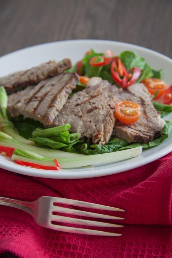Kalfsvleeslapjes vlees royalty-vrije stock foto