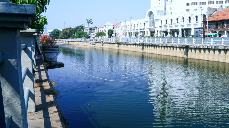 Kali Besar River photo stock
