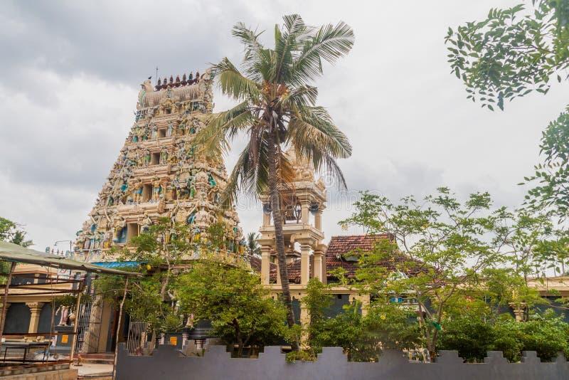 Kali Kovil świątynia w Trincomalee, Sri Lan zdjęcia stock