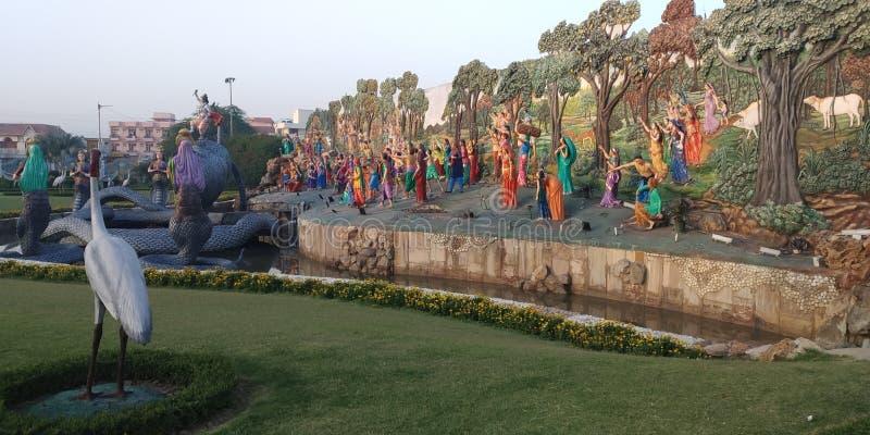 Kalia de contrôle de krishna de Shri photographie stock libre de droits