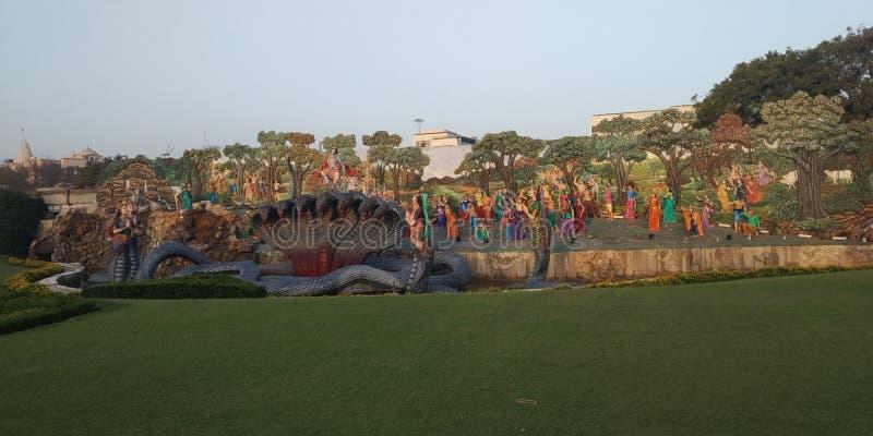 Kalia de contrôle de krishna de Shri image libre de droits