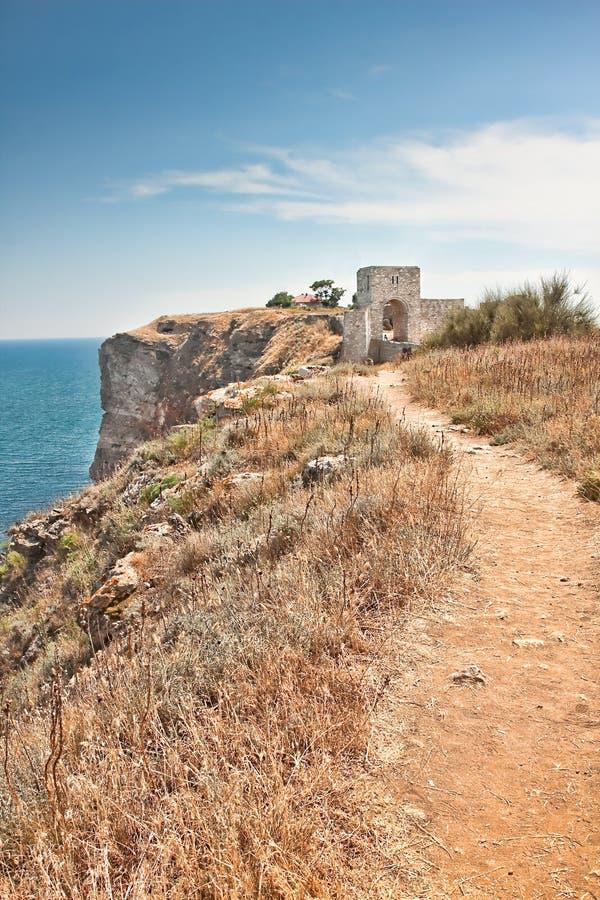 Download Kaliakra Fortress stock image. Image of bulgaria, cape - 10314405
