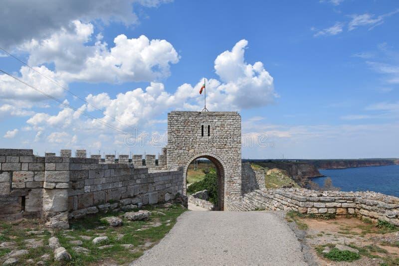 Kaliakra Historisch Monumentaal Oriëntatiepunt Bulgarije stock foto