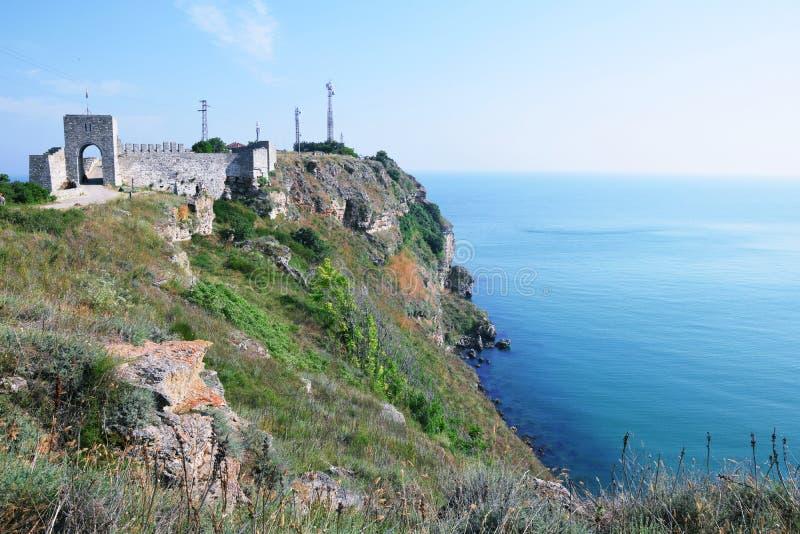 Kaliakra Historisch Monumentaal Oriëntatiepunt Bulgarije stock fotografie