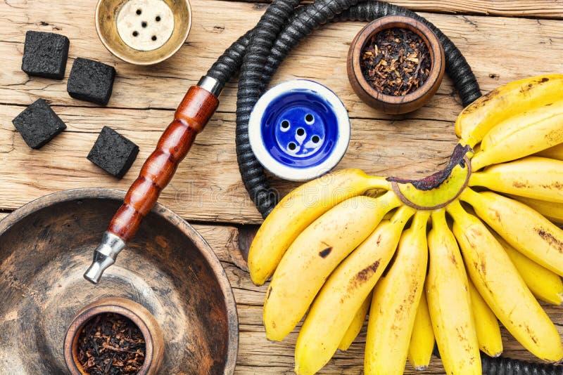 Kalian mit Bananengeschmack lizenzfreies stockfoto
