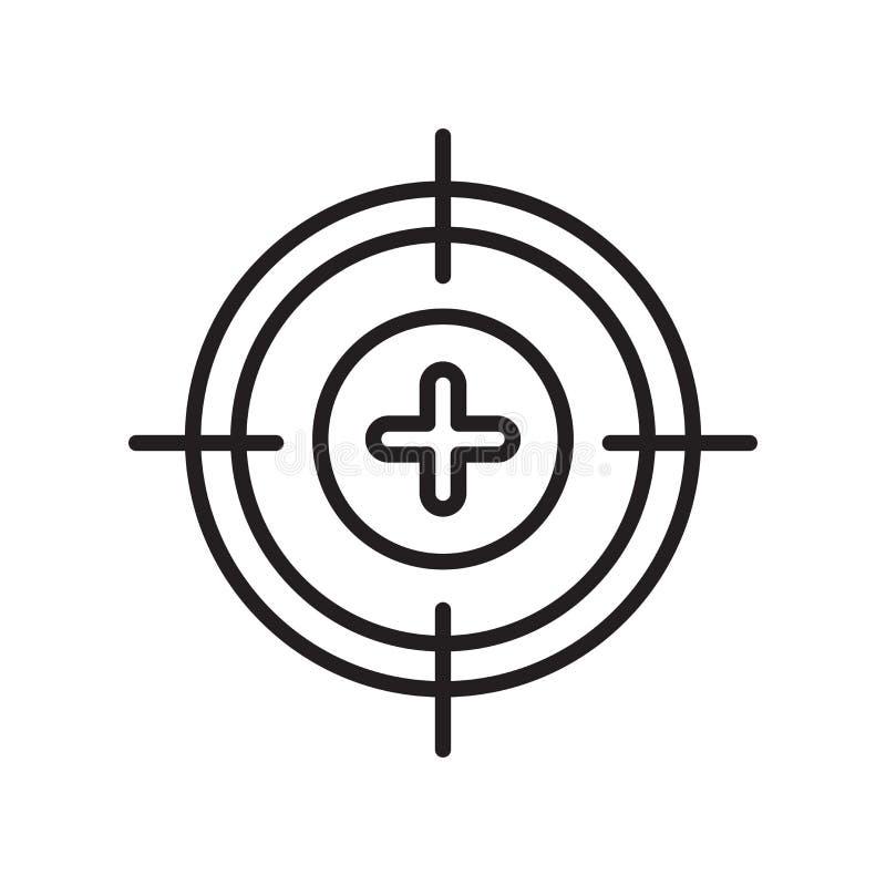 Kalibreer pictogramvector op witte achtergrond wordt geïsoleerd, kalibreer Si dat vector illustratie