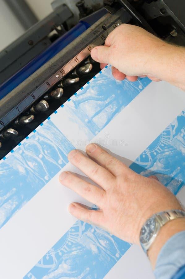 Kalibrierung des Tintenzubehör lizenzfreies stockbild