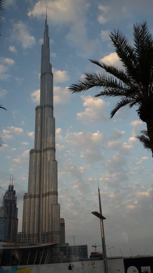 Kalifer de Burj image libre de droits