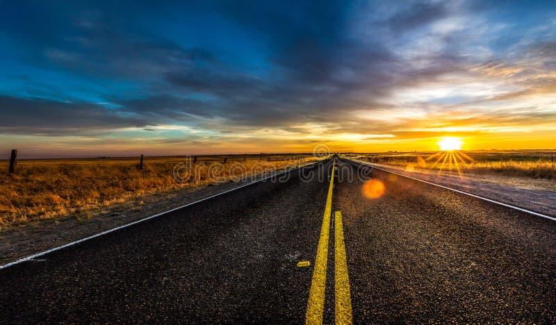 Kalifornia autostrada zdjęcie royalty free