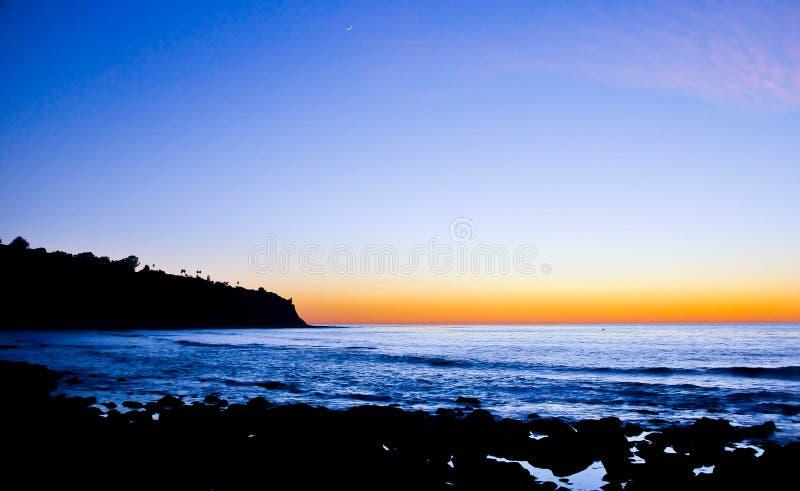Kalifornia falezy zdjęcie royalty free