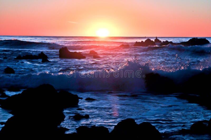 Kalifornia falezy fotografia royalty free