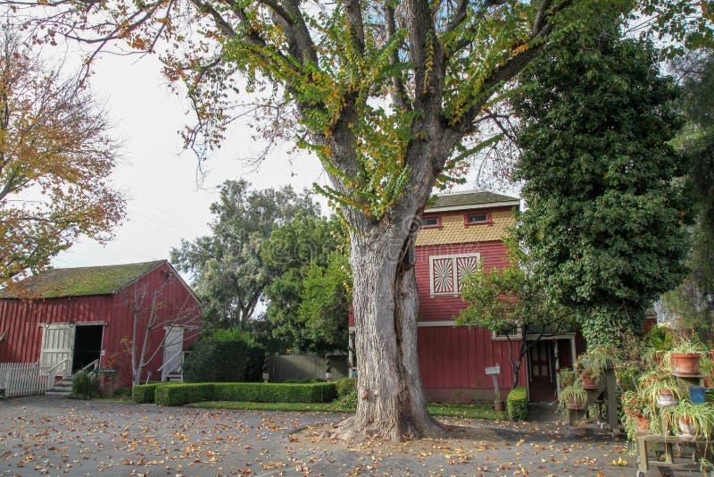 Kalifornia, grudzień 12,2018: Winchester dom jest ducha domem sławnym w Kalifornia obrazy stock