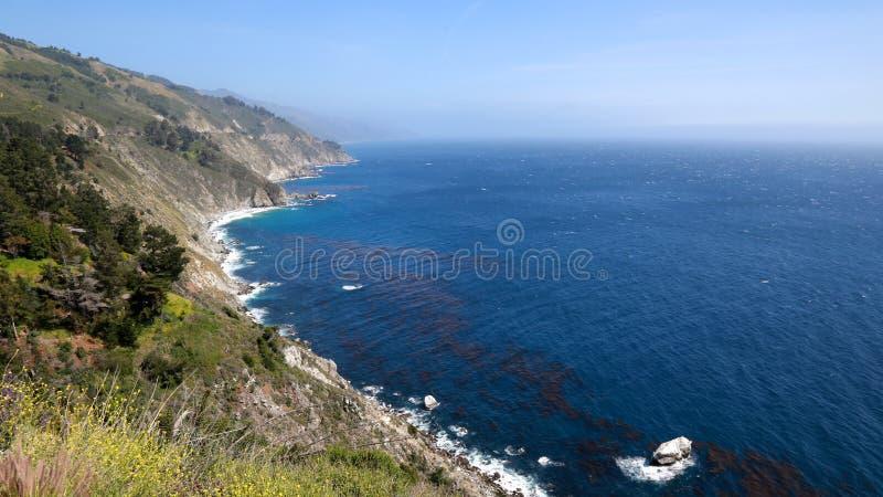 Kalifornia linia brzegowa obrazy stock