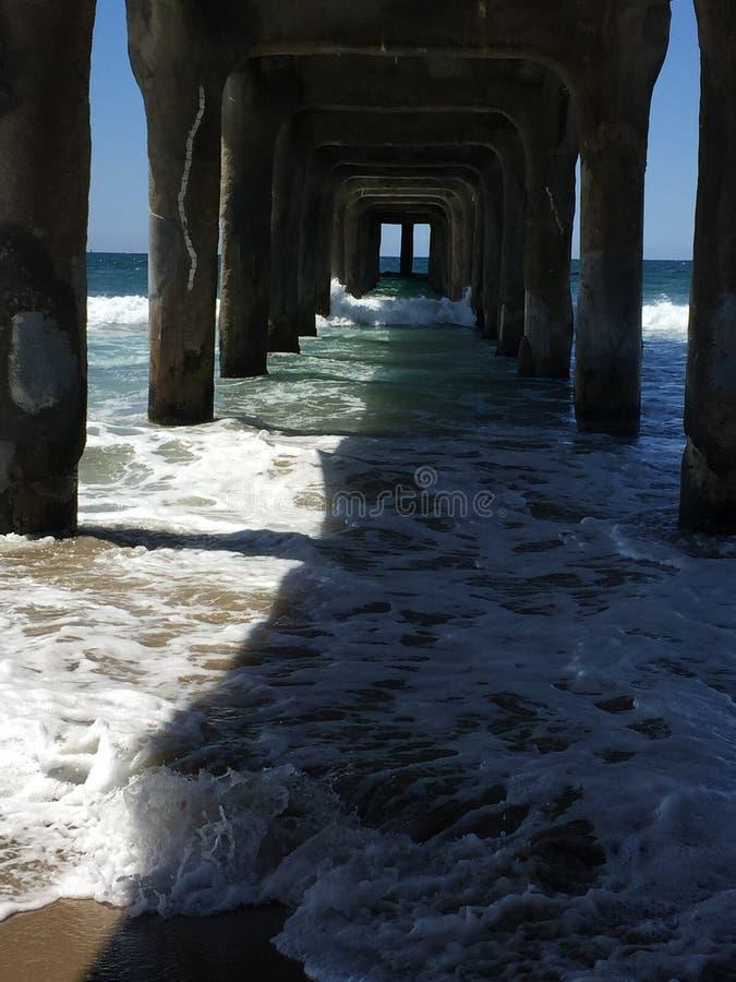Kalifornia molo fotografia stock