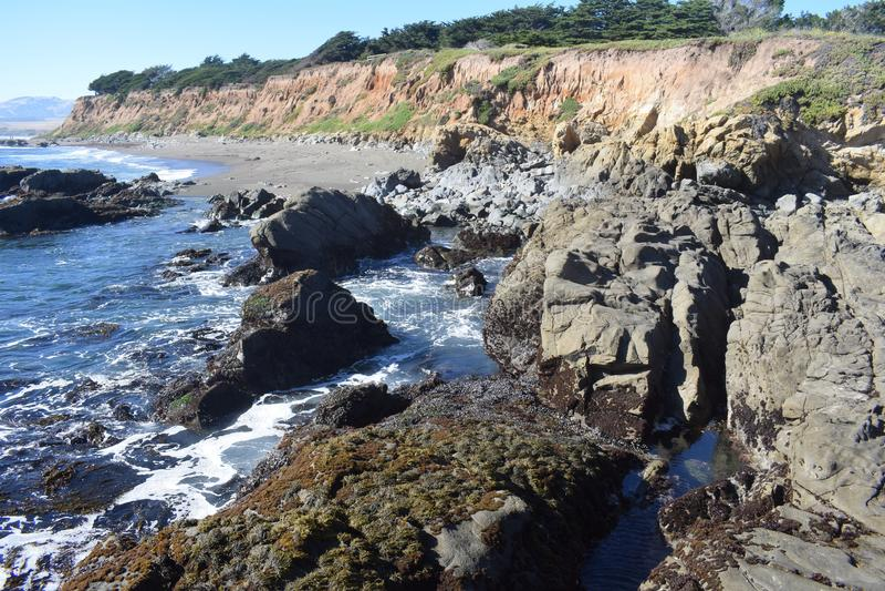 Kalifornia plaża fotografia stock