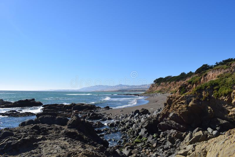 Kalifornia plaża obrazy royalty free