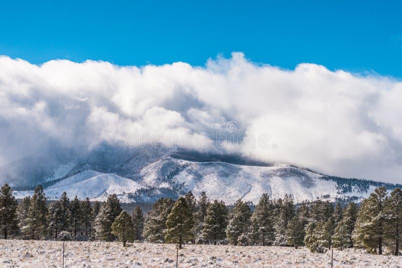Kalifornia trasy 1 sceniczne góry zdjęcia stock