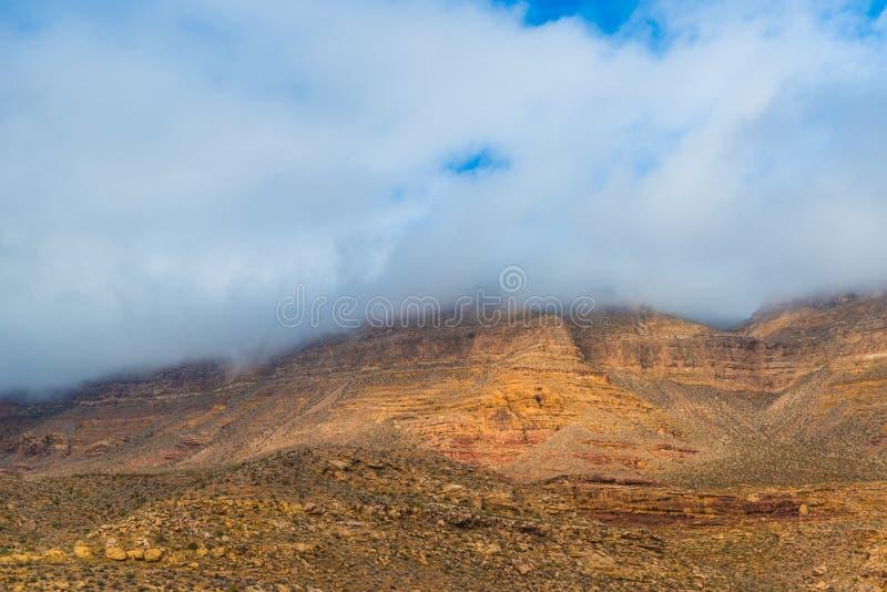 Kalifornia trasy 1 sceniczne góry obraz stock